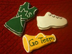How about cheerleading cookies?