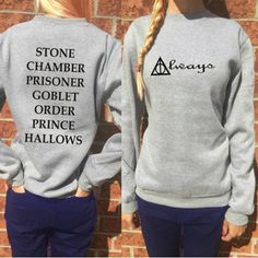 Stylish Round Collar Long Sleeve Letter and Geometirc Pattern Women's Sweatshirt Sweatshirts & Hoodies | RoseGal.com Mobile