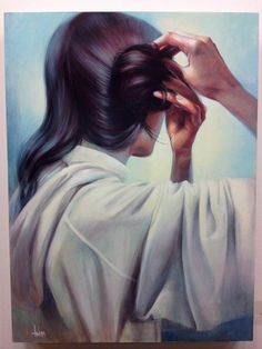 """alwaysstarwars: """"andreawicklund: """" Leia -acrylic on wood, 18 x """" I kind of see this as a companion piece to this. Both are such beautifully done looks at quiet moments in Leia's life. Leia Star Wars, Star Wars Art, Carrie Fisher, Saga, Motif Art Deco, Star Wars Episode Iv, The Force Is Strong, A New Hope, Love Stars"""