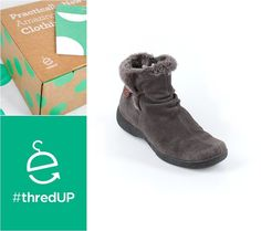 I spent $11.99 on these baretrap ankle boots and they are like new! Signup through the link for $10 off at Thredup. Second Hand Shop, Second Hand Clothes, Cute Boots For Women, Ugg Boots, Ankle Boots, Winter Shoes, Uggs, Slippers, Footwear