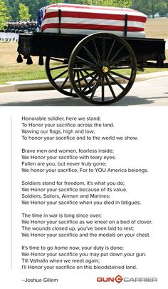 Honorable Soldier — A Memorial Day Poem | Give Thanks To Those Who Have Sacrificed Everything For The American's Freedom | http://guncarrier.com/honorable-soldier-a-memorial-day-poem/