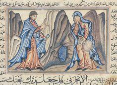 L'Annonciation, miniature de la Jami 'al-Tawarikh de Rashid al-Din, 1314. - http://it.mariedenazareth.com/1764.0.html?L=0&utm_source=Une+minute+avec+Marie+%28fr%29&utm_campaign=f27af8bfa3-UMM_FR_Q_2016_04_14&utm_medium=email&utm_term=0_a9c0165f22-f27af8bfa3-105408025