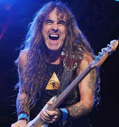 Face of a God. Steve Harris.  If you claim to like Metal but don't know who he is, shame on you.
