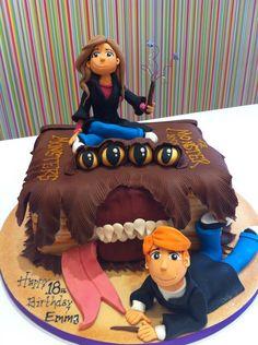 Monster's Book of Monsters, Harry Potter #cake.