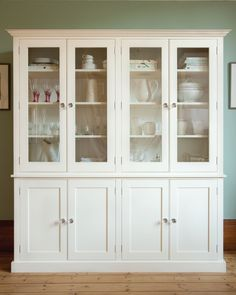 Painted Kitchen Dressers and Fine Free Standing Furniture from The Kitchen Dresser Company / Furniture - The Morning Room - The Glass Cupboard