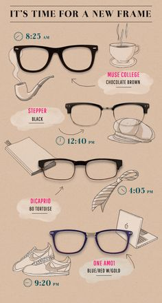Time for a new pair of glasses? 1000+ styles online, complete with your prescription at http://www.glassesusa.com/?affid=pin-lp218&utm_source=pinterest.com&utm_medium=pint_sponsored&utm_campaign=time
