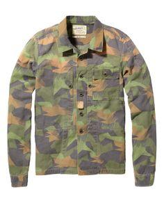 Military Overshirt|Blazers|Men Clothing at Scotch & Soda