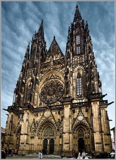 Old gothic church .would love to visit.I love gothic architecture. - Old gothic church …would love to visit…I love gothic architecture…especially found in churche - Baroque Architecture, Church Architecture, Ancient Architecture, Beautiful Architecture, Beautiful Buildings, Modern Architecture, Architecture Definition, Watercolor Architecture, Architecture Awards