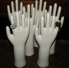 industrial glove molds.