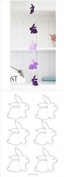 .colgante de conejos