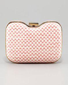 Giano Quadrotino Clutch Bag by Fendi at Neiman Marcus.