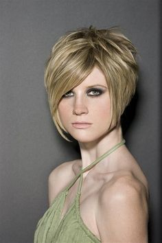 Bing : Short Hair Cuts for Women. She is a tad scary, but cute hair!!