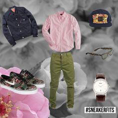 "What To Wear With The Nike SB Stefan Janoski ""Digi-floral"" - #sneakerfits | KicksOnFire.com"