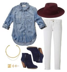 """""""Fall Outfit Idea #5"""" by thebudgetbabe on Polyvore featuring Uniqlo, Abercrombie & Fitch, Whistles, Sole Society and OBEY Clothing"""