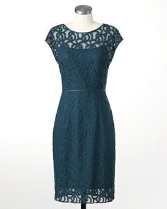 Elegant lace dress #ColdwaterCreek