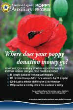 memorial day poppies vfw
