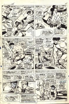 TtA_85_Hulk_pg_6 Comic Art