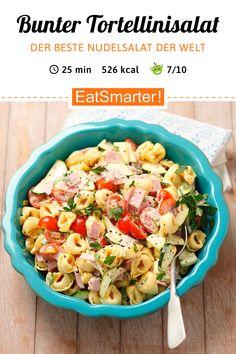 Tortellini-Salat – der BESTE Nudelsalat! | eatsmarter.de #nudelsalat #pasta #nudeln #salat #eatsmarter #rezept #tortellini