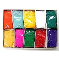 holi(spring festival)powders I think we might do this  it would be fun.