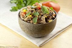 Clean Eating Slow Cooker Mexican Style Chili Mac