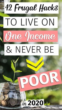 How To Live Frugally On One Income: Tips - Start saving money every month on autopilot when you utilize these simple frugal living tips and mo - Save Money On Groceries, Ways To Save Money, Earn Money, Frugal Living Tips, Frugal Tips, Best Money Saving Tips, Saving Money, Money Tips, Money Hacks