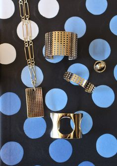 Petite Perforated Collection, kelly wearstler