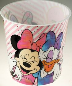 Plastic bin - hygienic & easy to wipe clean. 20 L - Good capacity to hold waste paper etc. Great for a Minnie Mouse bedroom make over! Childrens Bedroom Accessories, Spiderman Kids, Waste Paper, Plastic Bins, Daisy Duck, Blue Whale, Cleaning Wipes, Minnie Mouse, Room Ideas