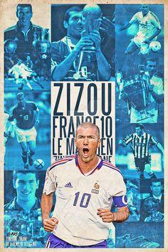 Zinedine Zidane by riikardo.deviantart.com on @DeviantArt