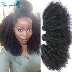 Mongolischen Verworrenes Lockiges Reines Haar 3 Stücke Mongolischen Afro Verworrenes Lockiges Haar Bundles Curly Weave Menschenhaar Rosa Königin Haar produkte