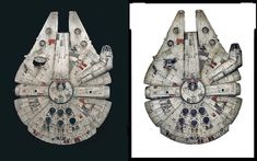 Bandai 1-144 Millennium Falcon ANH version - Page 6