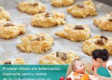 Biscuiti cu mere si ovaz pentru copii - Clubul Bebelusilor 1 An, Cookies, Desserts, Food, Crack Crackers, Tailgate Desserts, Deserts, Biscuits, Essen