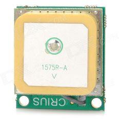 Crius CN-06 V2.0 Standalone U-Blox GPS Receiver Module w/ Source Antenna - Green