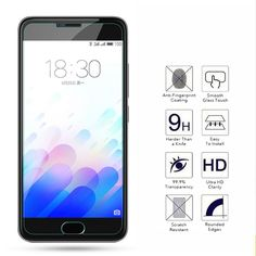 9H Tempered Glass For Meizu M2 M3S Mini M1 M2 Note 2 3 MX 2 3 4 Pro 6S Note3 Note Metal MX5 6 Pro MX6 Screen Protector Film Case