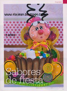 goma eva Cupcake -