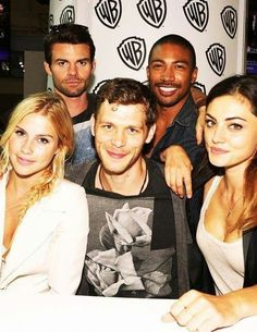 The Originals Cast #SDCC2013 - Joseph Morgan, Claire Holt, Charles Michael Davis, Phoebe Tonkin, and Daniel Gillies