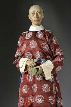 Portrait length color image of Prince Kung aka. Prince Gong, by George Stuart.