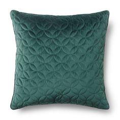 Kudde sammet, 65x65 cm, grön
