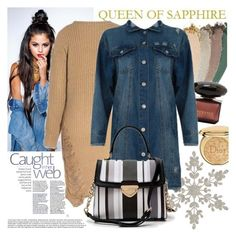 """QUEEN OF SAPPHIRE"" by gaby-mil ❤ liked on Polyvore featuring Christian Dior, Gucci and queenofsapphire"