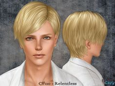 Cazy's Relentless - Hairstyle - Adult