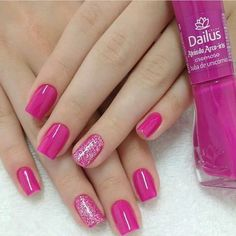 68 Ideas for manicure ideas simple Nails For Kids, Girls Nails, Pink Nails, Toe Nails, Natural Acrylic Nails, Fall Acrylic Nails, Beautiful Nail Polish, Gorgeous Nails, Little Girl Nails