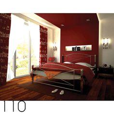 Κρεβάτι-Bed's   Τσινός Παντελής & Υιοί Ο.Ε. Metal Furniture, Bed Furniture, Metal Beds, Oversized Mirror, Curtains, Design, Home Decor, Bedroom Furniture, Blinds