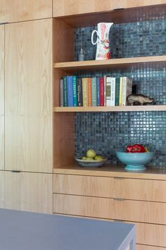 Kitchen detail Renovation in collaboration with Burton Architecture Brian Dittmar Design, Inc. Alameda CA