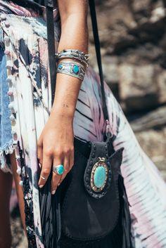 Mimi Elashiry turquoise details | Spell blog