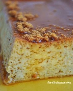 No Salt Recipes, Gourmet Recipes, Sweet Recipes, Real Food Recipes, Fat Foods, No Sugar Foods, Mousse, French Desserts, Sweet Cakes