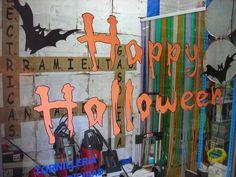 Escaparate Happy Halloween
