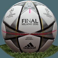2ca1587318a2a Adidas Finale Milano is name of official final match ball of UEFA Champions  League in Milan. The Adidas Finale Milano 2016 ball used for the UEFA  Champions ...