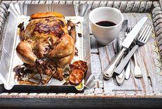 Ψητό κοτόπουλο & τέλεια μαρινάδα με μουστάρδα   Συνταγή   Argiro.gr - Argiro Barbarigou Food Categories, Greek Recipes, Ratatouille, Poultry, Turkey, Meat, Chicken, Cooking, Healthy