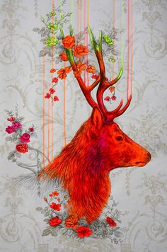 'Wild Setting' by Louise McNaught