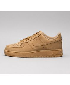 Nike Air Force 1 07 WB Low Chaussures Brown 3d2498491