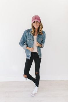 224 Best baseball cap outfit images in 2019  4a37b8c1b06